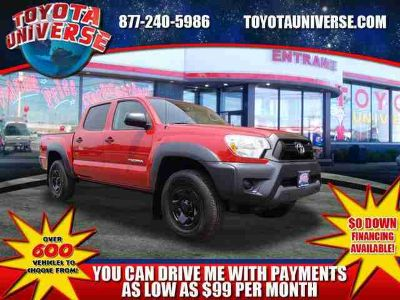 Used 2013 Toyota Tacoma 4WD Double Cab V6 AT
