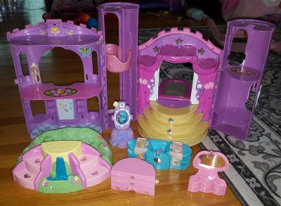 My little pony princess castle with accessories