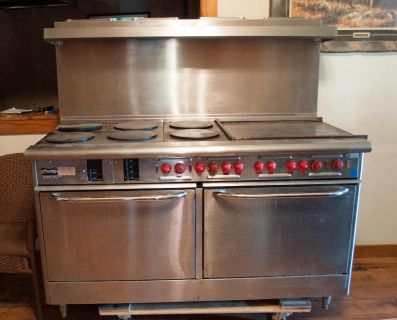 "Professional 60"" stove electric"