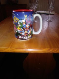 Disneyland coffee cup with Mom on the handle