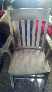 Very Old, Handmade, Antique Wooden Chair