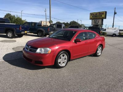 2012 Dodge Avenger SXT (RED)