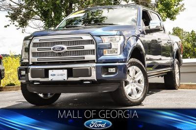 2016 Ford F-150 King Ranch (Blue Jeans Metallic)