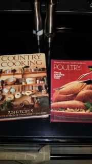 (2) Hard Cover Cook Books!
