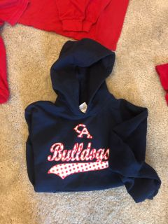 Adult small navy hoodie - Columbia Academy