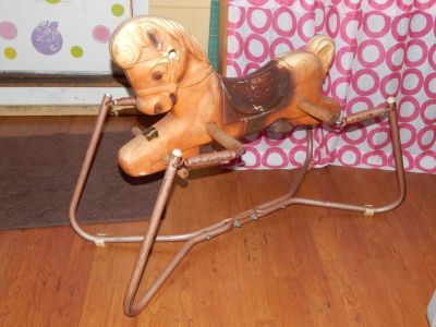 Antique Riding Horse Toy
