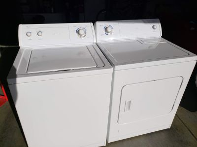 WHIRPOOL WASHER AND DRYER