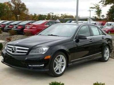 2013 Mercedes-Benz C-Class C300 Sport 4MATIC (Black)