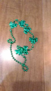 St. Patrick's necklace free with purchase
