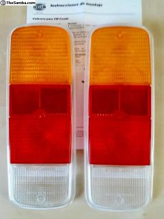 NOS bus 72-79 tail light tailight lenses HELLA