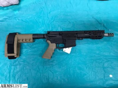 For Sale: Custom Bushmaster with Sig Brace