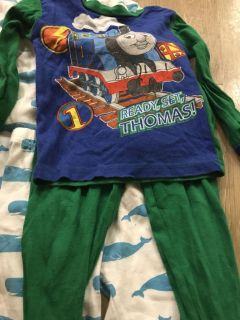 Pj s $1 each for cars Thomas and orange the others in the pics are free with purchase
