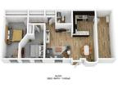 Schoolhouse Flats Apartments - Two BR/One BA: 1100sqft