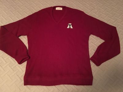Vintage, Univ. of Alabama,1960 s College Wear by Gepner. I have two of these sweaters. They are in excellent condition.