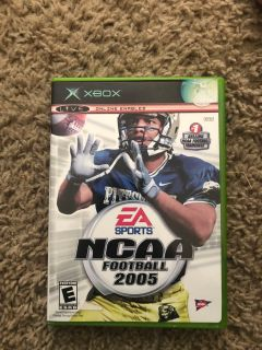 NCAA football game