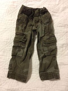 Old navy 3T camo adjustable waist cargo pants