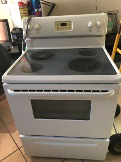 Frigidaire white electric stove $225.00