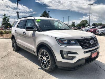 2016 Ford Explorer Sport (White Metallic)