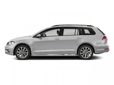 2018 Volkswagen Golf SportWagen SE (White Silver Metallic)