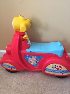 Ride along toy. Works great!