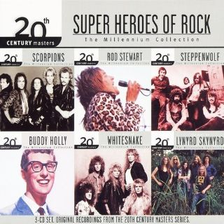 Super Heroes of Rock CD collection