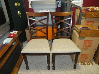 2-chairs, just bought them. Need to sell !