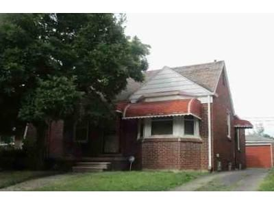 2 Bed 1 Bath Foreclosure Property in Detroit, MI 48228 - Prest St