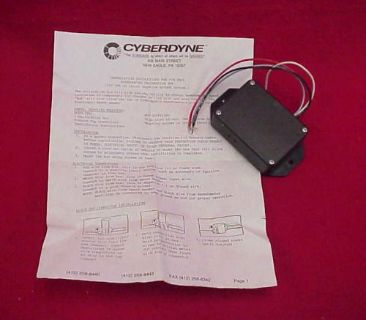Find NEW CYBERDYNE SPEEDOMETER CALIBRATION BOX SPEEDO 9901 CHEVY FORD MOPAR motorcycle in Fort Wayne, Indiana, United States, for US $29.95