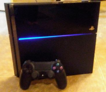 Sony PlayStation 4 with remote