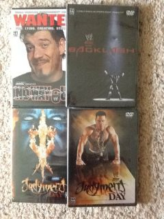WWE PPV DVD's