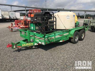 Mi-T-M HS-4005-Z004 Pressure Washer w/ T/A Trailer