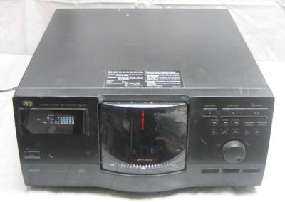 JVC XL-MC222BK Compact 200 Disc Automatic Changer Player - TESTED