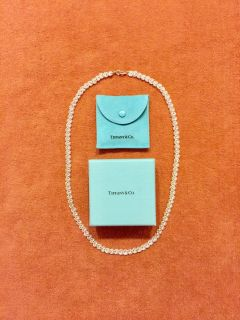 """Necklace, Sterling Silver, 24"""" with box & care instructions. Perfect Christmas gift"""