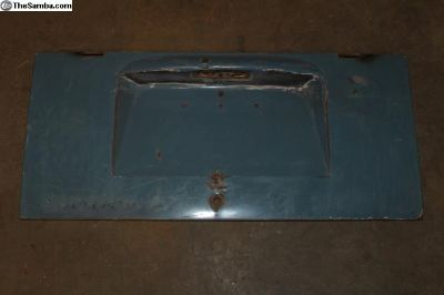 59-64 Bus Decklid Engine Lid Dove Blue