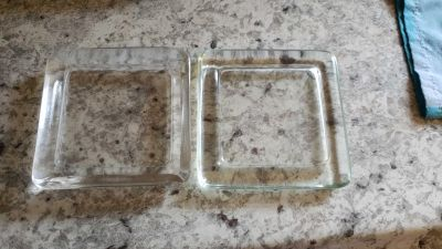 Square candle holders