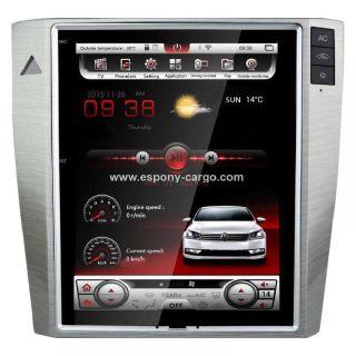 "10.4"" Tesla style Navigation Vertical Screen Android 6.0 Car Radio for Volkswagen Magotan"