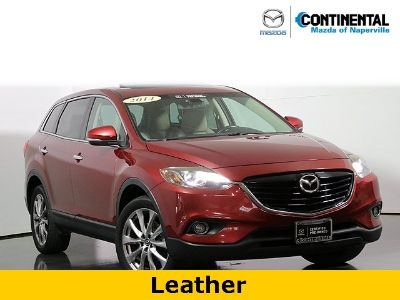 2014 Mazda CX-9 Grand Touring (Zeal Red Mica)