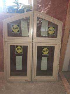 Pella side by side windows (insulated)