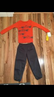 Carter s Race Car PJs. Size 4. Brand New with Tags.