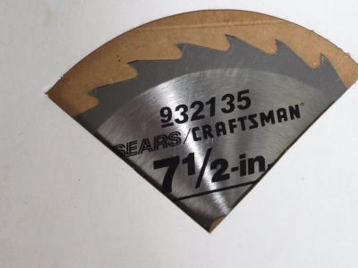 NEW craftsman circular saw blade 7-1/2""