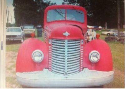 1947 International Fire Truck