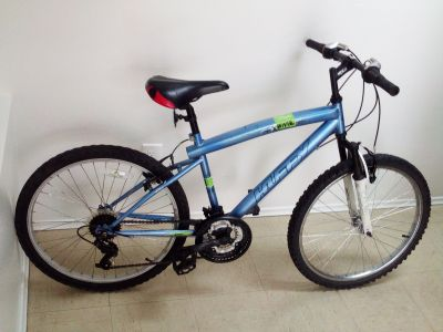 huffy brand 21 speed mountain bike for youth or small rider