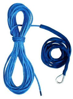 "Sell 50' 3/16"" Amsteel Blue Winch Cable ATV 4X4 Warn Ramsey Superwinch motorcycle in Pasadena, Texas, US, for US $55.00"