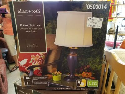 Lamps for Porch or Patio #1224-188