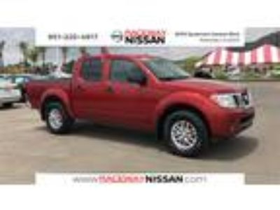 Used 2017 Nissan Frontier Cayenne Red, 40.7K miles