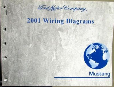 Sell 2001 Ford Dealer Electrical Wiring Diagram Service Manual Mustang motorcycle in Holts Summit, Missouri, United States, for US $24.99