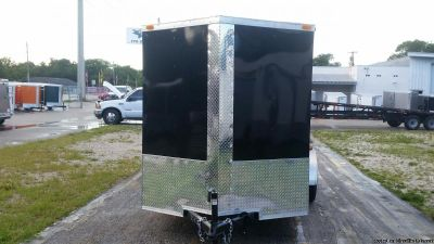 6 x 12 Enclosed Trailers with Extra Height