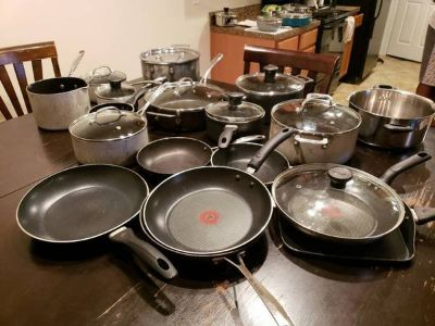 POTS AND PANS ALMOST FREE