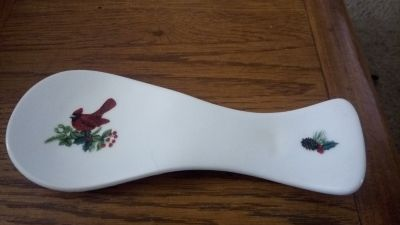 CHRISTMAS SPOON HOLDER