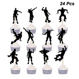 24 Dance Moves Cupcake Toppers